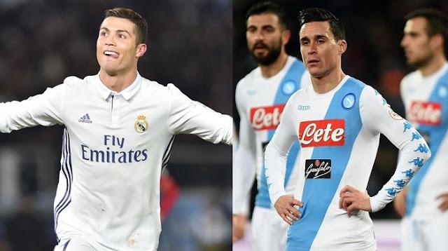 Real Madrid vs Napoli en vivo