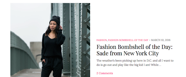 fashion bomb daily sade spence entertainment style street pop culture music tech journalist