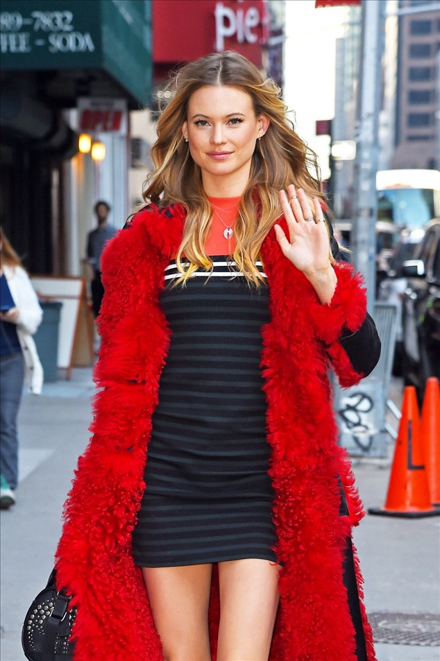 Behati Prinsloo At 'The Late Show with Stephen Colbert' In New York City