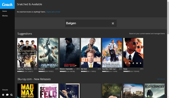 CouchPotato movies Best tips for video stream