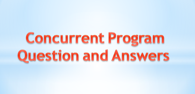 Concurrent Program Questions and Answers