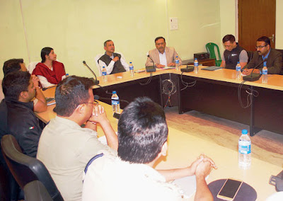 Gautam deb attends meeting for totos in Siliguri