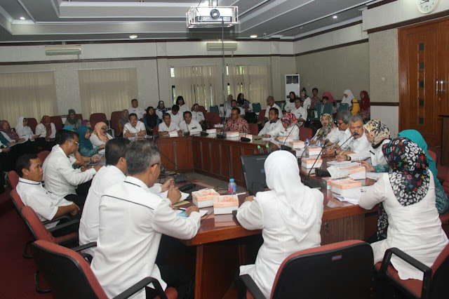 Kunjungan Tim Rechecking Penilaian Revitalisasi Calon Penerima Posyandu Award Tahun 2017 Propinsi Jawa Barat