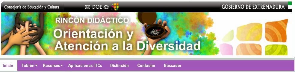 http://rincones.educarex.es/diversidad/