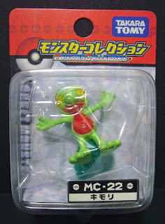 Treecko Pokemon Figure Takara Tomy Monster Collection MC series