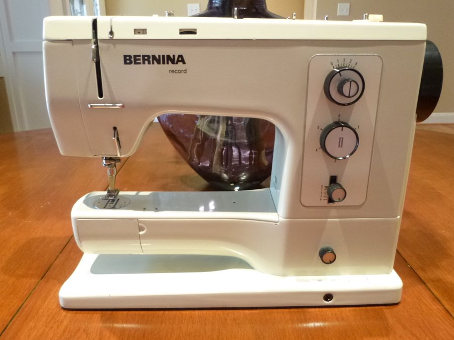 Tempted Threads: Vintage Bernina 830 Record Sewing Machine