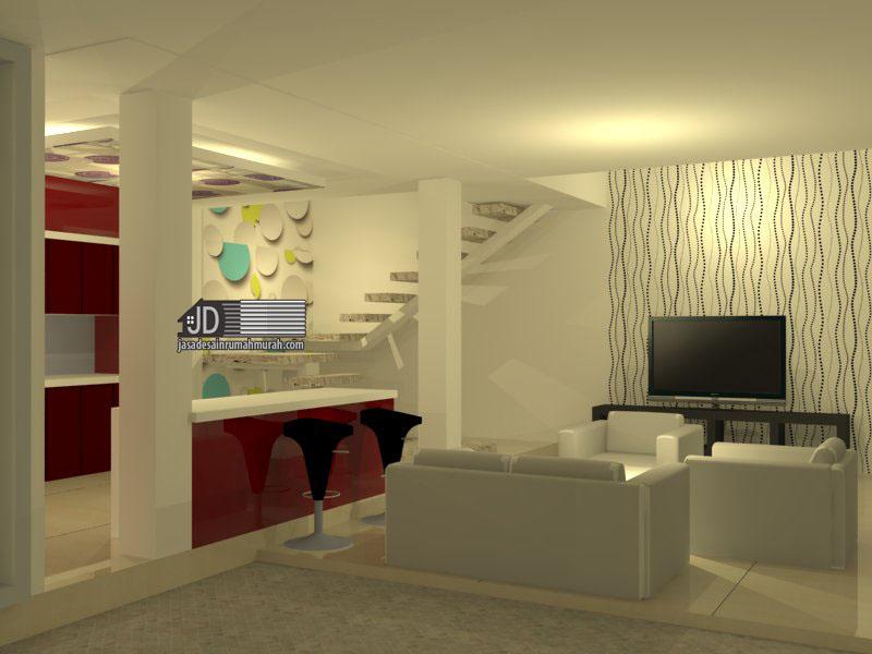 Desain Interior  Kamar  Tidur Ruang  Keluarga Kamar  Mandi