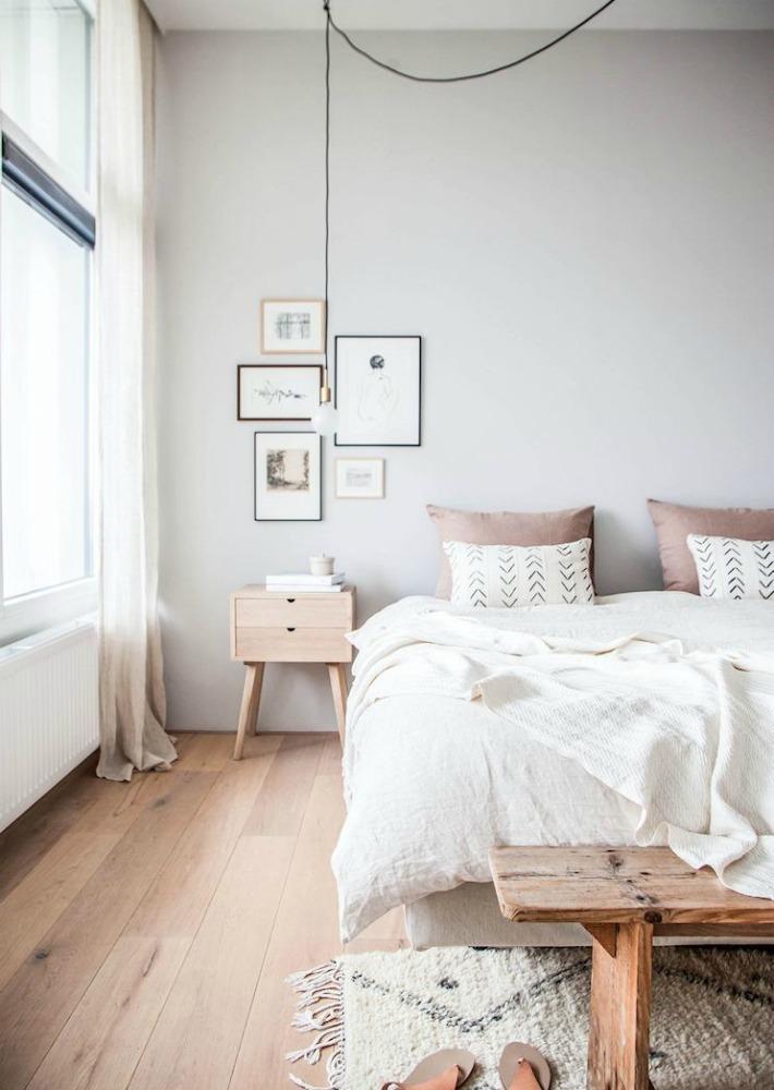 Decoración Fácil: Antes y después de un dormitorio minimalista