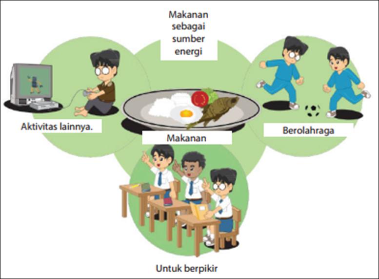 Makanan Sebagai Sumber Energi Fisika Dilori
