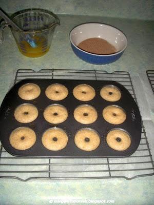 Margaret's Morsels | Baked Mini Doughnuts