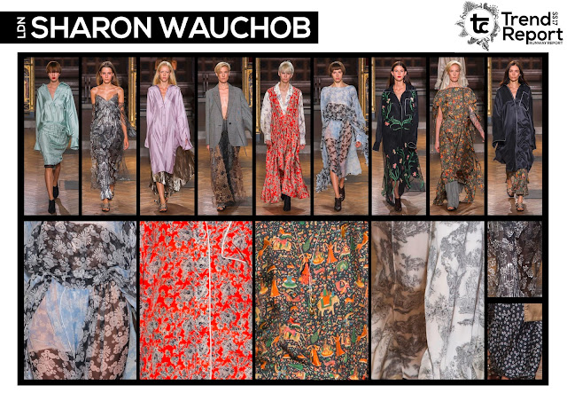 Textile Candy, fashion blog, runway collections, catwalk collections, Spring/Summer 2017, SS17, runway favourites, Sharon Wauchob, London fashion week