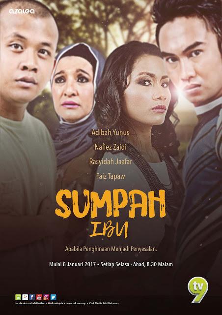 Sumpah Ibu Drama Lakonan Adibah Yunus dan Nafiez Zaidi