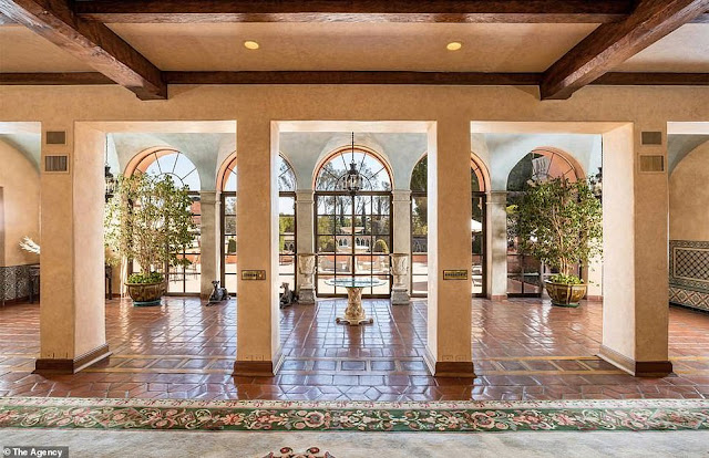 Interior Look And Feels Of stunning 18-bedroom Beverly Hills mansion that's on sale for $125m