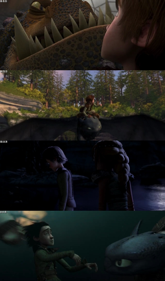 How To Train Your Dragon 2010 BluRay 720p 480p Dual Audio Hindi English Full Movie Download