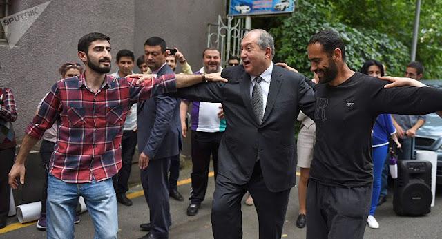 Presidente armenio a Reino Unido, Francia y Estados Unidos