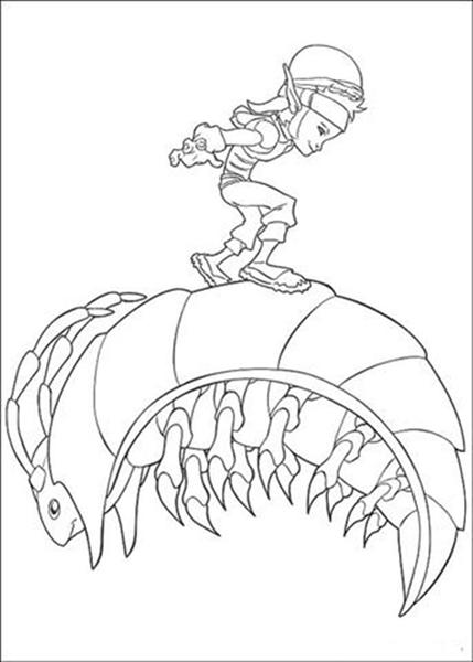Coloring Pages Fun: Arthur 3 Coloring Pages