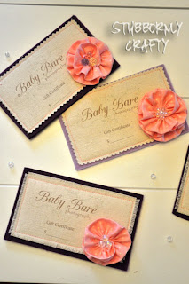 Handmade fabric giftcards gift cards DIY