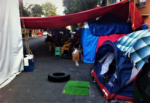 A 7 Semanas Del Sismo: refugiados viven entre la inseguridad y el olvido gubernamental