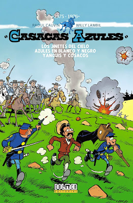 Casacas Azules. 1975-1976 (Integral nº 4) - Raoul Cauvin / Willy Lambil