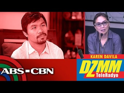 Manny Pacquiao answers Karen Davila's burning questions following anti-LGBT comment