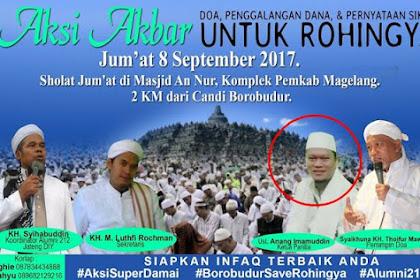 Lebai! Ketua Aksi Bela Rohingya Borobudur Dipolisikan Meski Aksi Sudah Lama Lewat