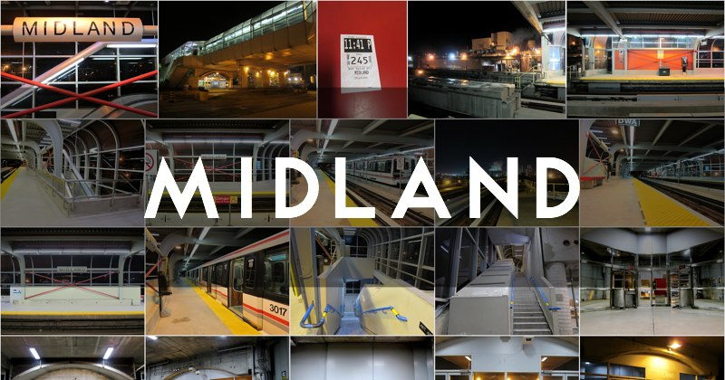 Midland station photo gallery