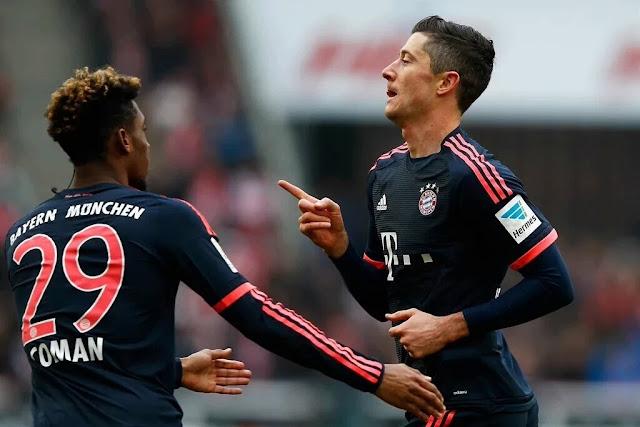 Lewandowski se tornou o principal jogador do Bayern de Guardiola, mostrando a importância do centroavante para o time