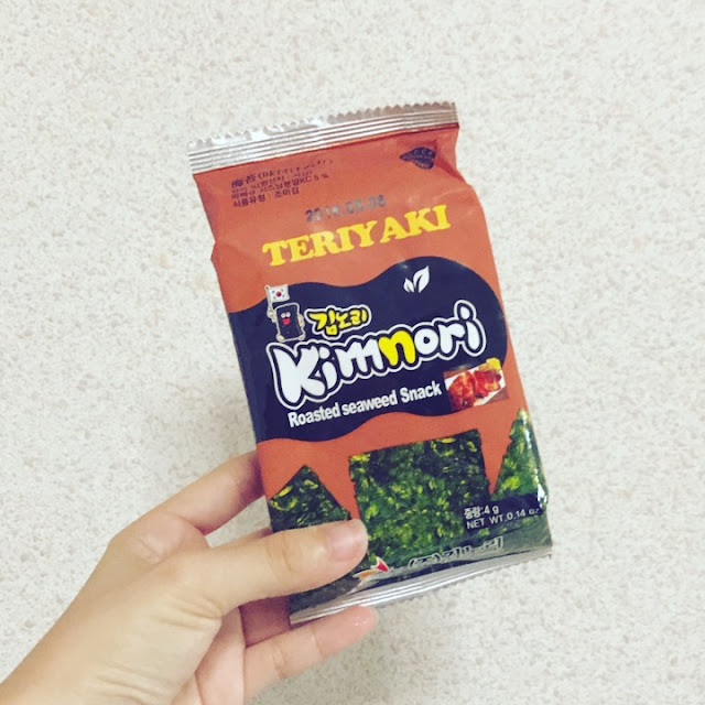 Review: Kimnori Teriyaki Roasted Seaweed