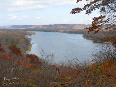 Mississippi River in Iowa