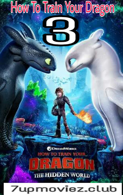 How to Train Your Dragon 3 (2019) English 480p 720p HDCam x264 Full Movie Download