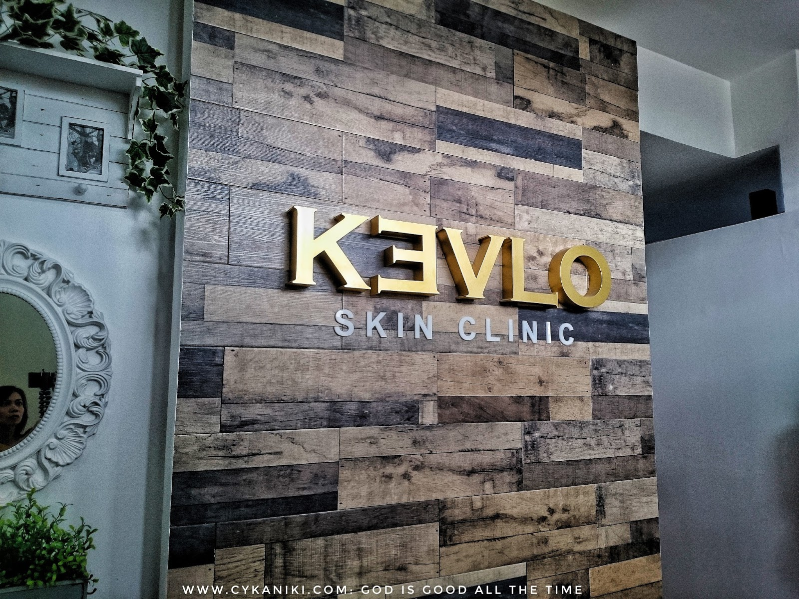 Facial treatment at KEVLO Skin Clinic - God is Good all the time