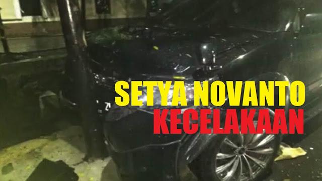 Mobil Setya Novanto Kecelakaan