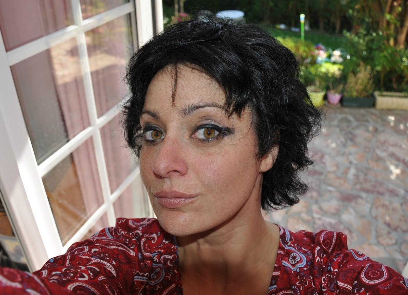 Retirer coloration noire cheveux
