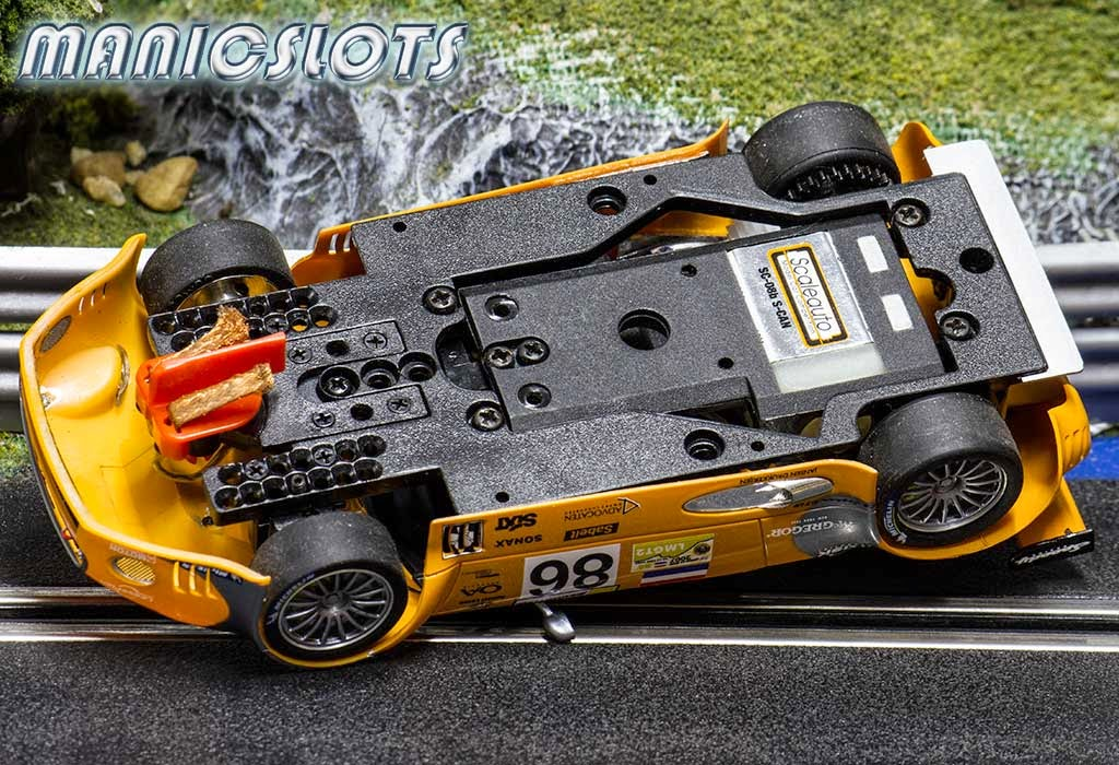 ManicSlots' slot cars and scenery: REVIEW: Scaleauto Spyker C8 GT2-R