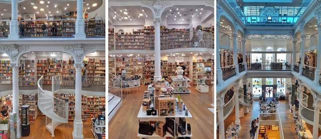 Carturesti Carusel livraria Bucareste
