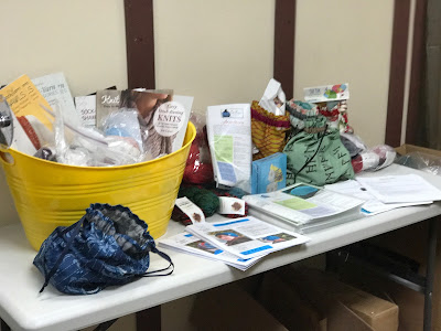 Prize Table at Halos of Hope-A-Thon