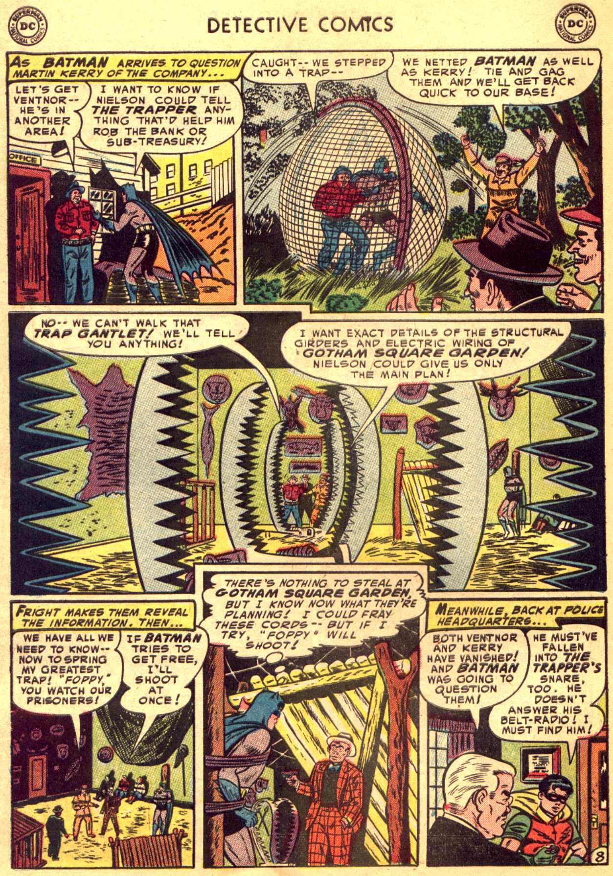 Read online Detective Comics (1937) comic -  Issue #206 - 8