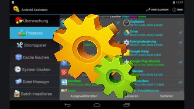 تحميل تطبيق صيانة وتسريع الهاتف Android Assistant للاندرويد