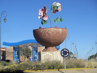 """""""Valle de las Rosas"""" en Kelâat M´Gouna"""