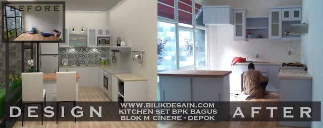 Harga Jasa Kitchen Set Murah Pondok Indah