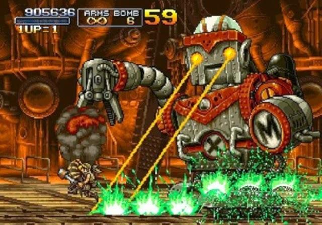 Metal Slug Series PC Games Gameplay