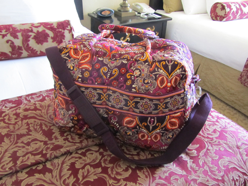 When I Wrote About My Decision To Purchase A Vera Bradley Weekender Bag For Road Trips Didn T Realize How Por That Article Would Be