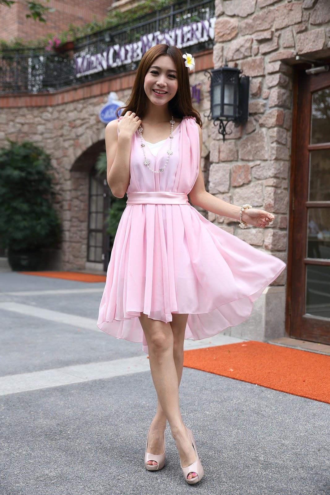 Modepol : Schuhe zu Kleid in Rosa oder Pastellfarben: Nix da