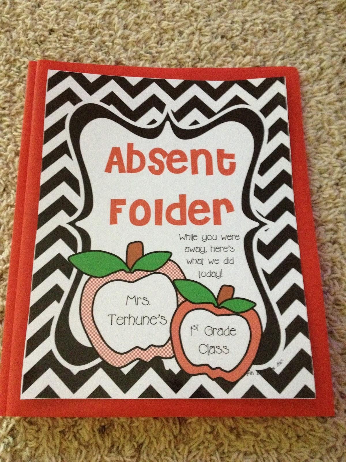 Teaching With Terhune Absent Folders