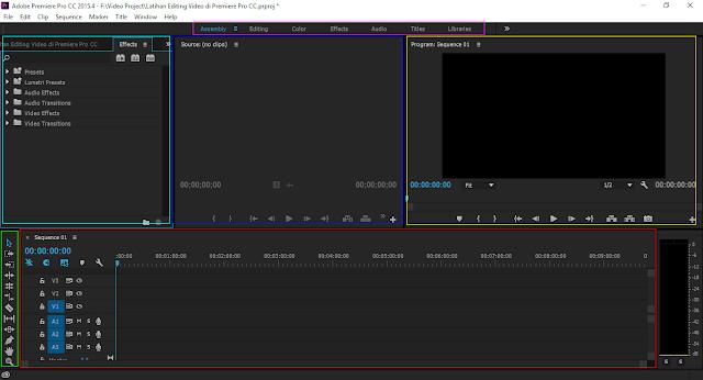 Cara Mengedit Video Menggunakan Adobe Premiere Pro CC