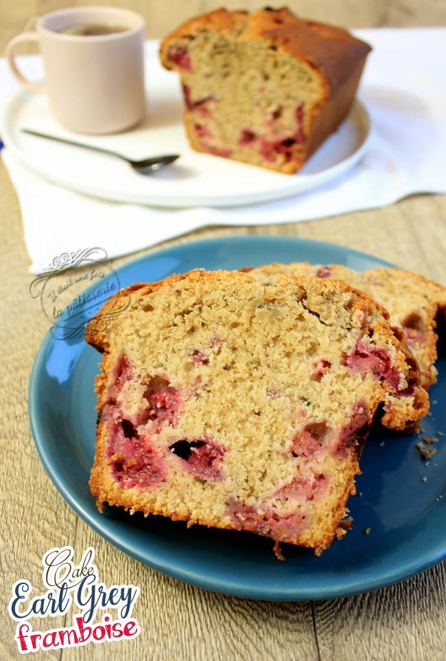 recette cake framboise