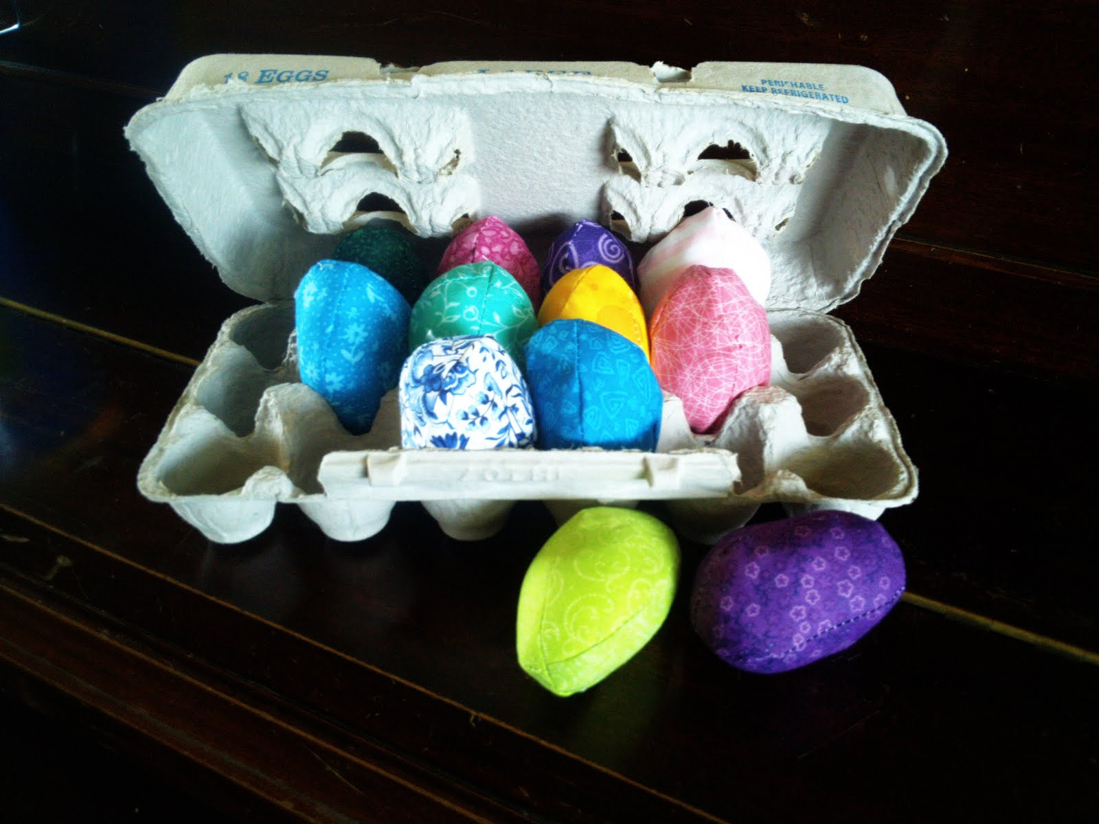 Home Sewn Easter Eggs Gyct Designs