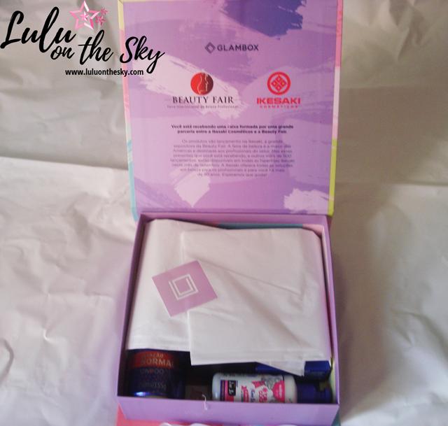 GLAMBOX Beauty Fair - Ikesaki: confira os produtos recebidos