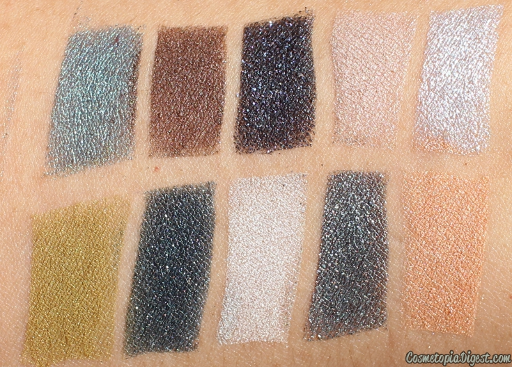 Review and swatches of the By Terry Eye Designer Magnet'Eyes Palette.