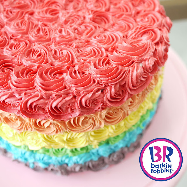 Baskin Robbins Design Your Own Cake : Say